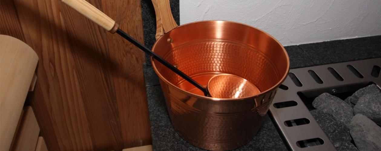 Saunazubehör für Wellnes- & SPA - Bereiche