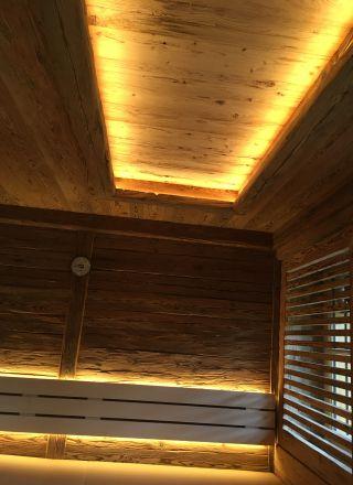 Sauna und Dampfbad in einem als Biosauna oder Dampfsauna
