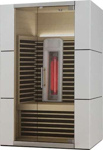 Premium Infrarot Design Kabine 135 x 105 x 195 cm
